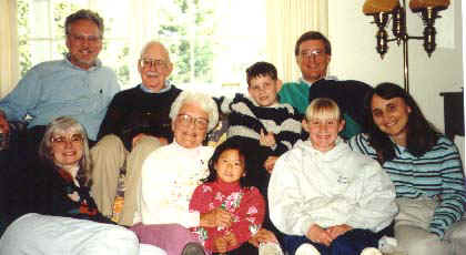 Family Reunion in Cambridge circa 1997